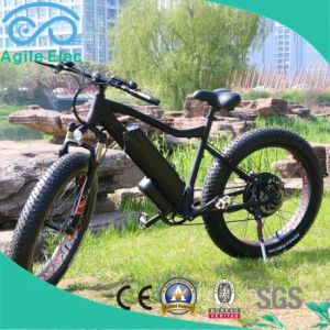 48V 500W Fat Tire Wheel Electric Bicycle with Battery pictures & photos