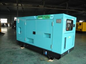 Foton Isuzu Diesel Generator Set Canopy Type 15kw to 30kw pictures & photos