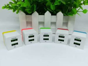 Wholesale 2 Port USB Plug USB Charger for Smart Phone Charging pictures & photos