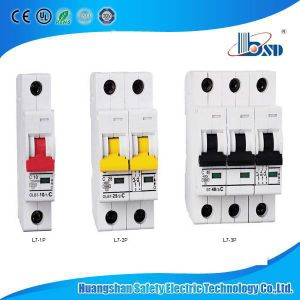 L7 MCB Electric Air Circuit Breaker 380V (440V) 63A Miniature Circuit Breaker pictures & photos
