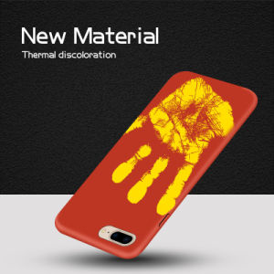 New Fashion! Thermal Discoloration Soft Phone Case for iPhone 7 pictures & photos