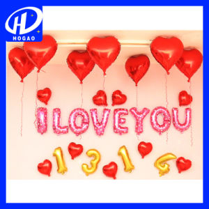 in Stock Hot Sale Wedding and Party Decoration Dolls Shape Latex Helium Balloon pictures & photos