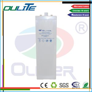 Good Quality with Competitive Opzv 2V 600ah pictures & photos