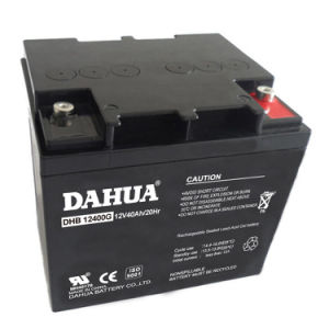 Hot Sale 12V 40ah Gel Solar Battery for Solar Systems pictures & photos