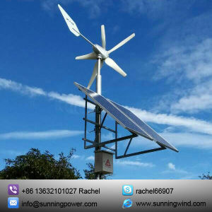 Wind Turbine System for Remote Area