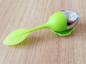 Popular Loose Leaf Filter Silicone Tea Infuser pictures & photos