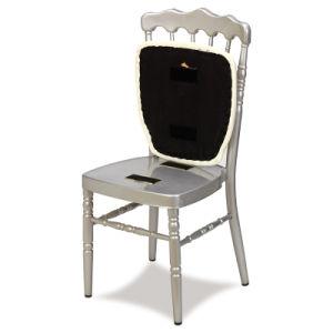 Golden Aluminum Seat Wedding Napoleon Chair pictures & photos
