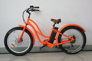 500W Fat Tire Hot Sale Beach Cruiser E-Bike for Girls pictures & photos