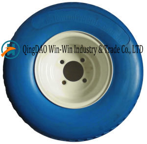 Solid PU Wheel with Spoke Color (18*8.50-8) pictures & photos