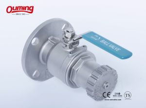 Flanged Stainless Steel Ball Valve pictures & photos