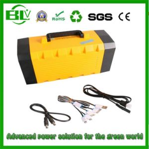 Backup Power UPS of 80ah Lithium Battery Pack for 5V/12V Electronic with Nice Case pictures & photos