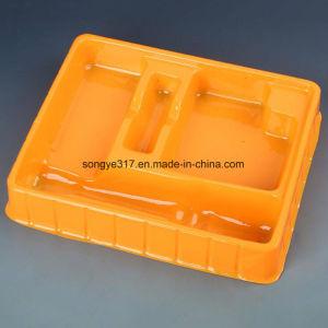 PVC Yellow Lashlight Blister Tray pictures & photos