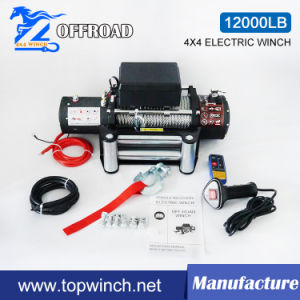 SUV 4X4 Electric Winch off-Road Winch Auto Winch (12000lb-4) pictures & photos