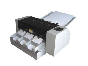 SSA-002 350GSM A3 Multi-function full-auto card cutter machine pictures & photos