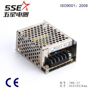 35W Mini Size AC to DC Switching Power Supply Ms-35-12 35W 12V 3A with Ce RoHS pictures & photos
