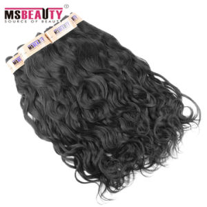 Unprocessed Nature Wave Virgin Brazilian Human Hair Weave pictures & photos