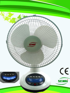 12 Inches Rechargeable Table Fan (FT-30DC-RD)