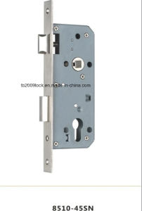 Stainless Steel Mortise Door Lock/Lock Body/Lock (8510-45SN) pictures & photos