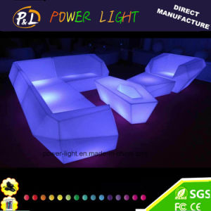 Luxury Lumimous Rotational Moulding LED Furniture Modern LED Table pictures & photos