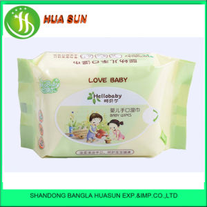 2016 New Products Baby Wipes Skin Care with Plastic Lip 30PCS/Bag pictures & photos