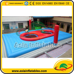 Outdoor Inflatable Bossaball Court Game for Beach pictures & photos