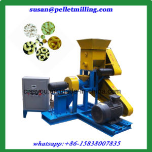 Beans Rice Corn Flakes Snack Food Extruder Machine pictures & photos