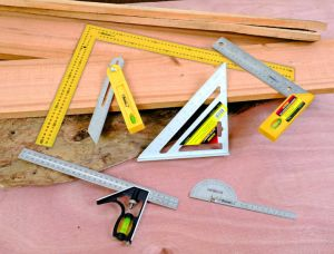 "Multifunctional Measuring Tools 7"" Aluminum Rafter Square Set Square pictures & photos"