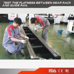 [Glorystar] Double Drive High Speed Fiber Laser Metal Cutting Machine for Metal pictures & photos