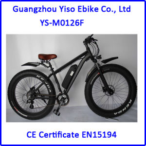 48V 500W Full Suspension Fat Electric Bicycle pictures & photos