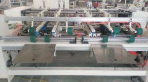 Semi Automatic Paper Board Folder Gluer/Corrugated Board Glue Machine pictures & photos
