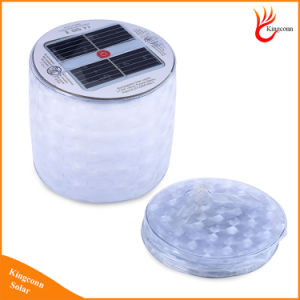 Collapsible Diamond RGB Colorful Inflatable Solar Lantern Light Solar Power Atmosphere Light pictures & photos