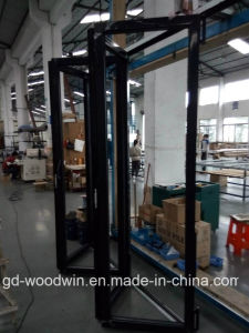 Woodwin Hot Seller Thermal Break Aluminum Folding Door with Double Temperd Glass pictures & photos