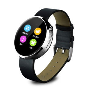 "Dm360 Bluetooth Smart Watch 1.22"" Heart Rate Monitor Pedometer Sleep Monitor Anti-Lost Handfree for Ios Android pictures & photos"