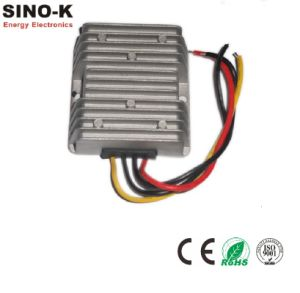 Waterproof DC-DC 24V to 13.8V 15A 207W Buck Power Converter pictures & photos