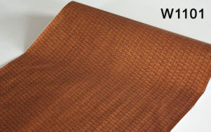 Wood Grain Pattern Self-Adhesive PVC Decoration Film for Wall Panel pictures & photos