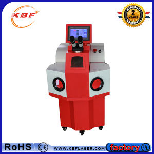 Promotion Portable Table Automatic Jewelry Spot Welding Machine for Gold pictures & photos