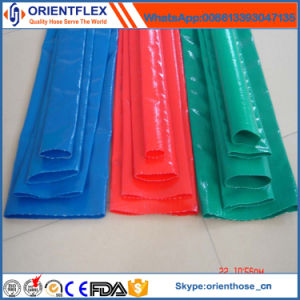 PVC Plastic Irrigation Water Layflat Pipe pictures & photos