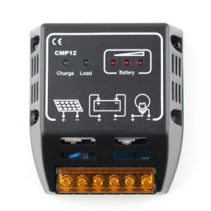 20A 12V 24V Solar Cells Panel Charger Controller Power Regulator with LED CMP12-20A pictures & photos