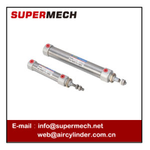 Cj2 Double Acting Stainless Steel Mini Pneumatic Cylinder SMC Type pictures & photos