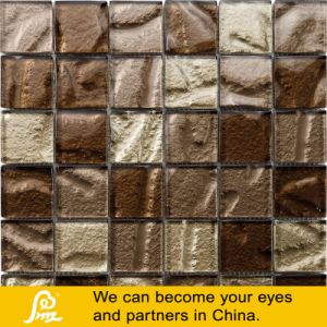 Project Brown Glass Mosaic with Special Shape for Wall pictures & photos