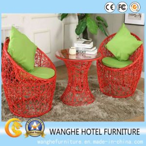 Rattan Outdoor Hotel Furniture Table Chair Set pictures & photos