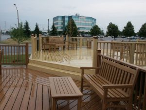 Popular Waterproof WPC Flooring for Outdoor Use pictures & photos