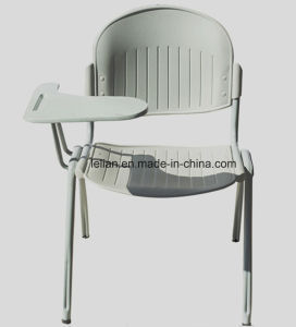 Flash Furniture Pound Black Polypropylene Stack Chair with Black Frame (LL-0012) pictures & photos