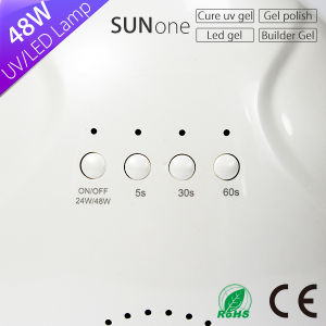 2017 New Sunlight Sunone 48W UV LED Nail Lamp pictures & photos