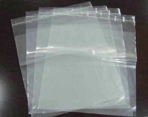 Custom Coloured Printed LDPE Plastic Double Ziplock Bags with Design pictures & photos