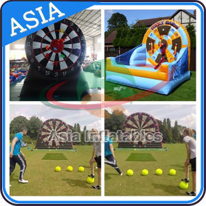 Factory Price Inflatable Football Darts for Adults, Inflatable Soccer Dart, Inflatable Foot Dartboard pictures & photos