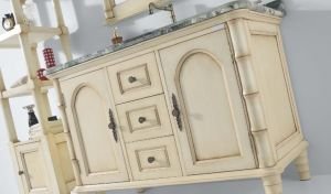 Oak Wood Bathroom Cabinet Sw-63005 pictures & photos