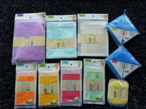 Eco Friendly Kitchen Cleaning Bamboo Dish Cloths Towel China Supply pictures & photos