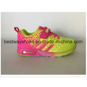 Flyknit Girl Shoes Kids Tideway Sports Shoe pictures & photos