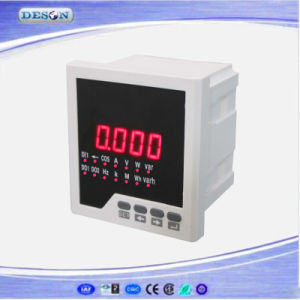 Panel Mounted Three Phase Digital Power Factor Meter pictures & photos